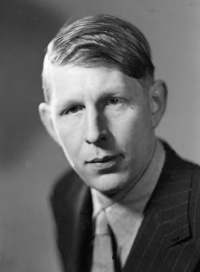 x3089 W.H. Auden by Howard Coster half-plate film negative, 1937 NPG x3089 © National Portrait Gallery, London