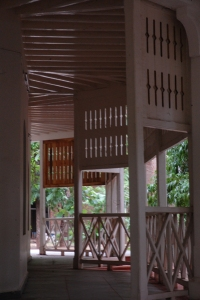 The restored bungalow at the Fine Arts Faculty, MSU. Copyright: Poulomi Das