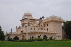 The royal residence, Laxmi Vilas Palace. Copyright: Poulomi Das