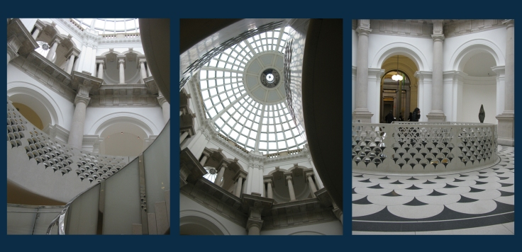 The interiors of Tate Britain.