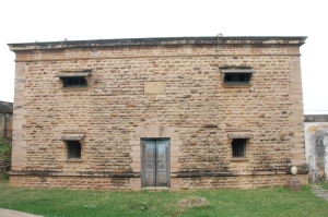 The tank house which is still in use
