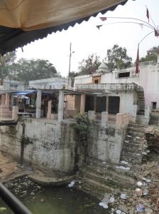 The temple precint