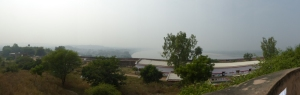 Uttarvahini Ganga from the Hastings house