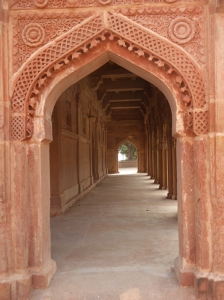 Carved archways