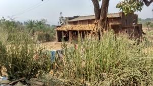 Ganjad village, around the local school