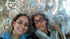 With Dr Rita Mukhopadhayay