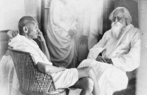 tagore_Gandhi_19540
