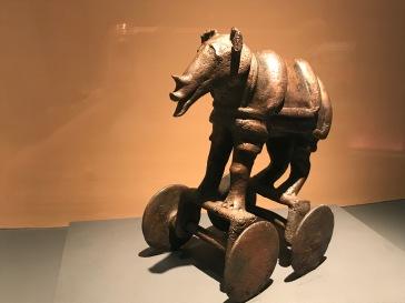 Rhino toy(?), Maharashtra