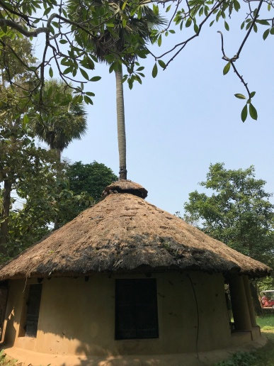 KaruSangha thatched mud hut