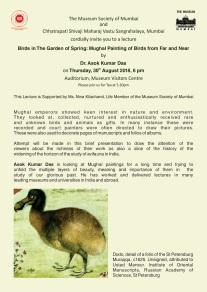 Birds in Mughal paintings talk