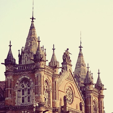 Spires of the Gothic Victoria Terminus