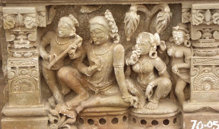 Shiva and Parvati, Abhaneri, 12th century