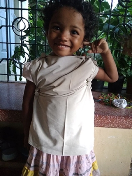Happy Shuchi, Debi's younger sister