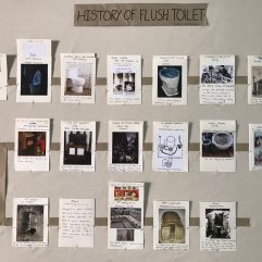 The flush toilet timeline