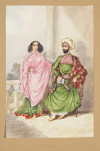 Fig.1. A 09.95- Persian Couple