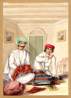 Fig.2. A 17.33 (1)- Cloth Merchants