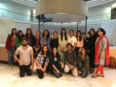 Strategic Design Management students at the Piramal Museum
