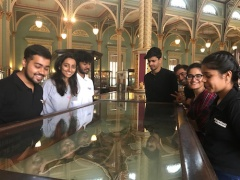 Communication Design students, Dr BDL Museum, Mumbai