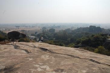Local guide at Chunar, Mauryan edict making site. Uttar Pradesh