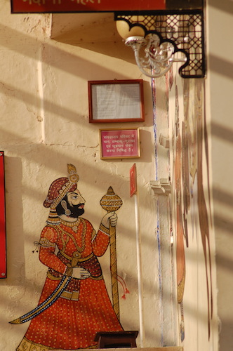 Guarding since centuries. City Palace, Udaipur