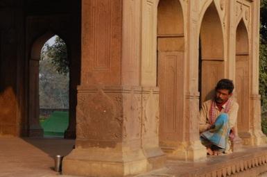 Praying for safety. Maner Sharif, Bihar