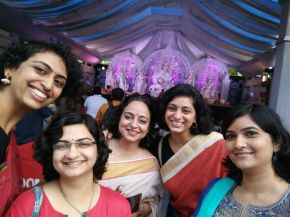 Durga Pujo tour, Andheri West