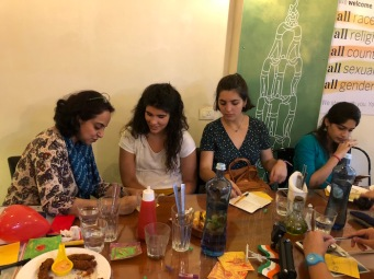 Food defines Freedom? Bombay to Barcelona Cafe