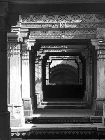 The 7 storied Adalaj step well