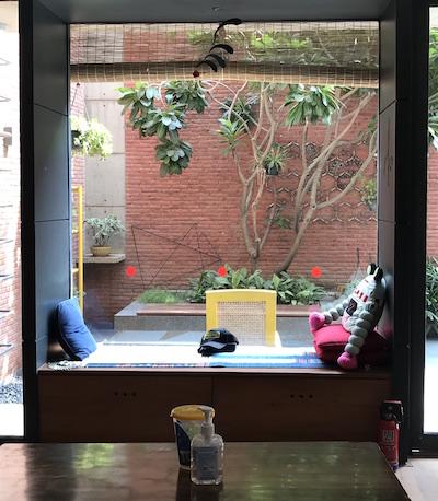 Window to the world: sit & dream