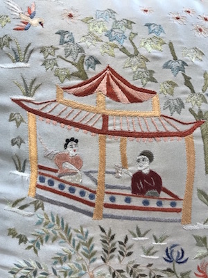 Chinese people in motif