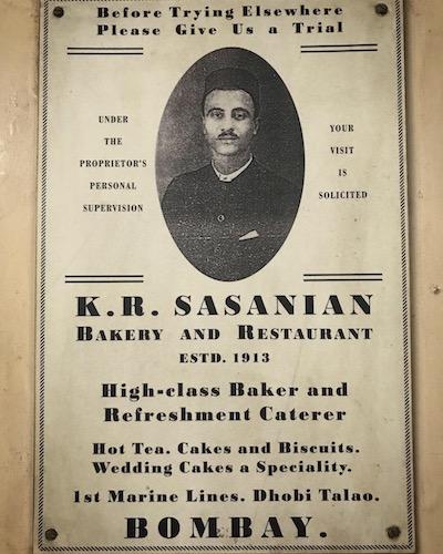 Sassanian Boulangerie, Marine Lines, Mumbai: Akuri & Bun Maska