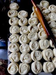 Malabari Parantha in the making
