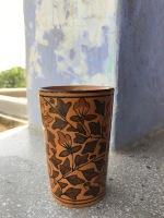 Lassi with Aparna <3 in Khurja pottery