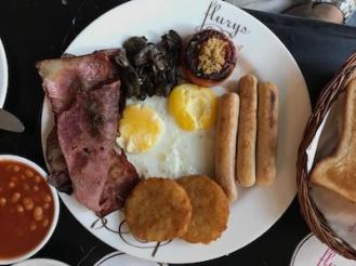 The Flury's breakfast