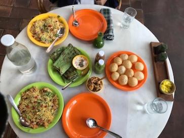 Gujarati delicacies, Green House, Ahmedabad