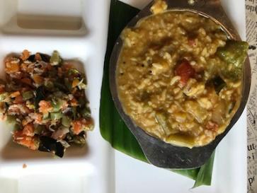 My lifetime fav: Sambhar & steamed rice