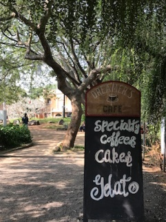 Cafe at Auroville