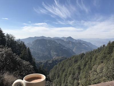 Himalayas & Hot Chocolate, Landour @CafeIvy