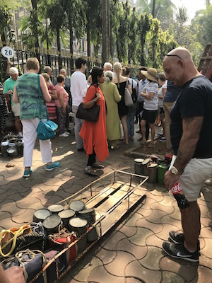Manju studying the Dabbawallas